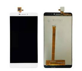Дисплей для телефона Bluboo Dual с сенсорным стеклом (Белый) Оригинал Китай