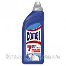 Средство для чистки поверхностей ванной комнаты Comet 24/7 гель 500г 12шт/уп