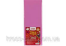 Бумага тишью, 17г/м, 5 листков 50*70 см, цвет пастельный фиолетовый
