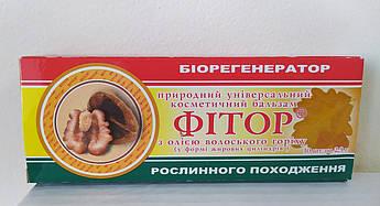 Свечи с фитором и маслом грецкого ореха, Фитория
