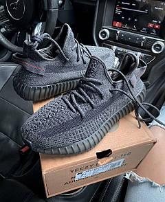 Чоловічі кросівки  Adidas Yeezy Boost 350 V2 Black Static