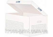 Контейнер архівний картонний Economix, білий