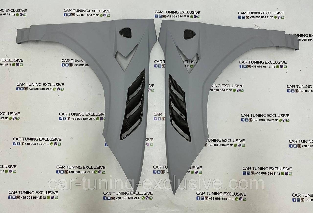 MANSORY front fenders with emblem for Lamborghini Urus