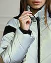 Куртка женская оверсайз рефлективная от бренда ТУР модель Кейт, размеры: S, M, фото 5
