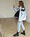 Куртка женская оверсайз рефлективная от бренда ТУР модель Кейт, размеры: S, M, фото 10