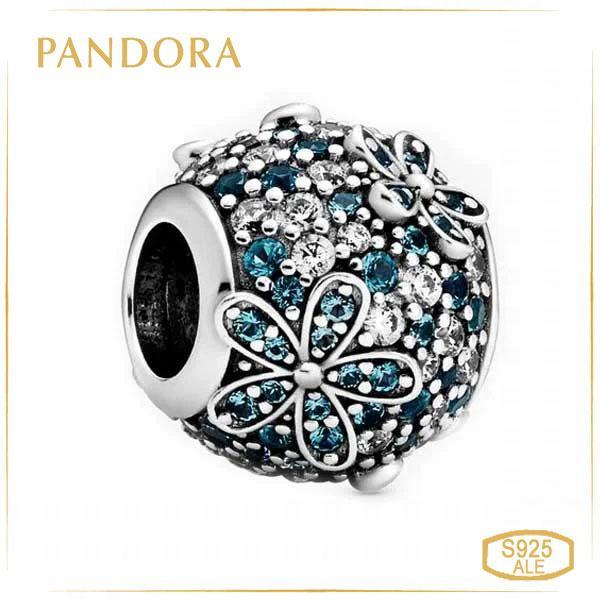 Пандора Шарм Бирюзовая маргаритка Pandora 798797C01