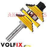 Комбінована рамкова фреза VOLFIX FZ-120-992 d8 для меблевої обв'язки, фото 8