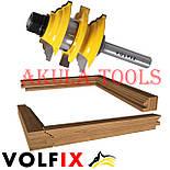 Комбінована рамкова фреза VOLFIX FZ-120-992 d8 для меблевої обв'язки, фото 3