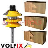 Комбінована рамкова фреза VOLFIX FZ-120-992 d8 для меблевої обв'язки, фото 2