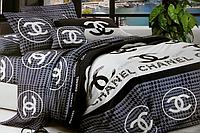 Двоспальне постільна білизна (брендовий логотип)
