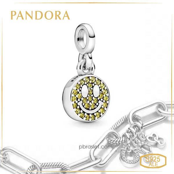 Пандора Шарм Моя улыбка Смайлик Pandora ME 798395NLY