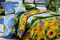 Двоспальне постільна білизна - Соняшники