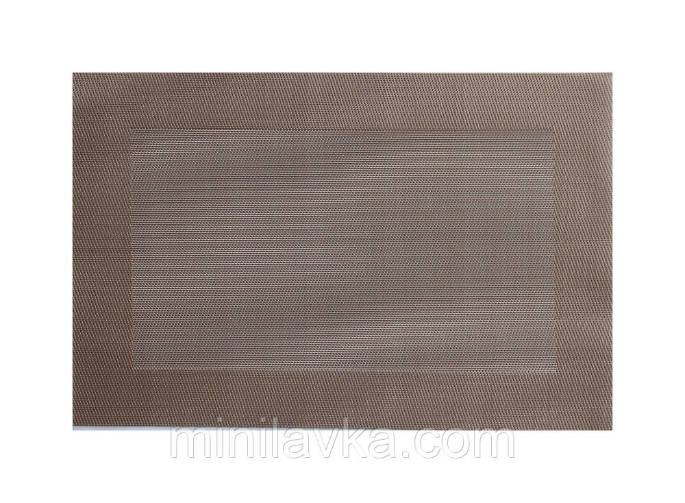 Килимок для гарячого світло коричневий PDL (КВ085-1)