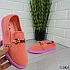 """Мокасини жіночі пудрові """"Werytu"""" текстильні кросівки жіночі кеди жіночі повсякденне взуття, фото 2"""