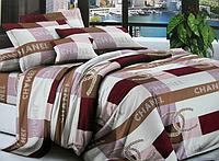 Двоспальне постільна білизна з брендовим логотипом