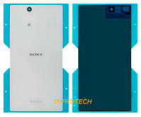 Задняя крышка Sony Xperia Z Ultra XL39H C6802 White Original с адгезивной плёнкой