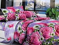 Двоспальне постільна білизна - Рожеві троянди