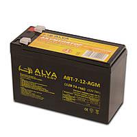 Аккумуляторная батарея ALVA АВТ-7-12-AGM
