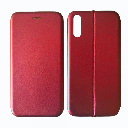 Чехол-книжка Level for Xiaomi Redmi 9A Red, фото 2