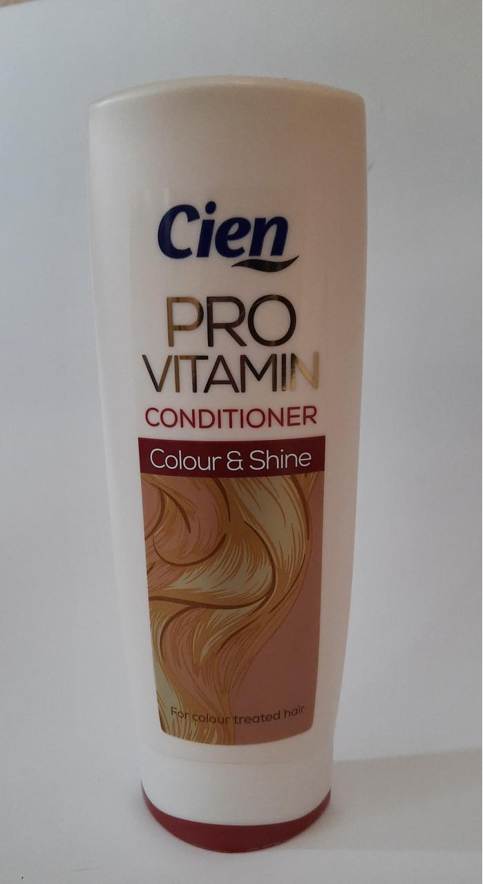 Кондиціонер для фарбованого волосся Cien PRO Vitamin Color & Shine 300мл