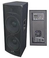 """Активная акустическая система City Sound CS-215SA 2x15""""+1"""", 1000/2000 Вт, 4 Ом"""