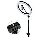 Кольцевая лампа 30 см со штативом 2 м для селфи Светодиодная кольцевая лампа, фото 3
