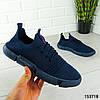 """Кроссовки мужские синие """"Gatery"""" текстильные мокасины мужские кеды мужские обувь мужская, фото 2"""