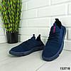 """Кроссовки мужские синие """"Gatery"""" текстильные мокасины мужские кеды мужские обувь мужская, фото 3"""