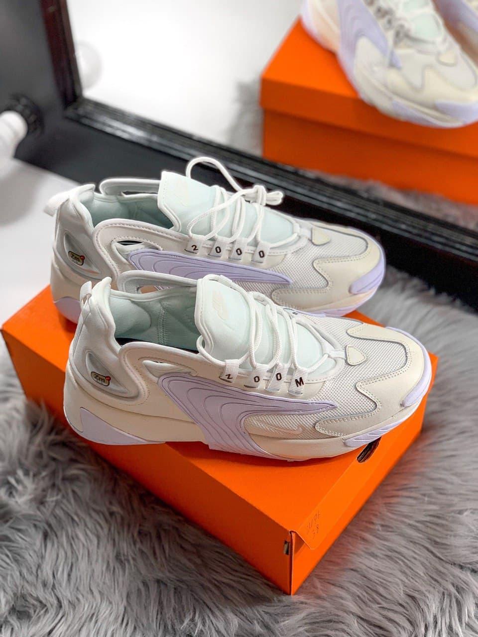 Женские кроссовки Nike Zoom 2K, White Cream, белые