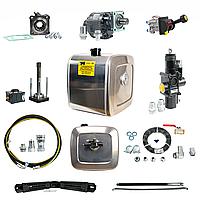 Комплект гидравлики на тягач с КПП ZF (механика)(бак алюминий)