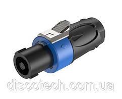 Роз'єм Roxtone RS4F-S-RSA SPEAKON male (тато)