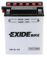 Аккумулятор EXIDE EB14L-A2 = YB14L-A2
