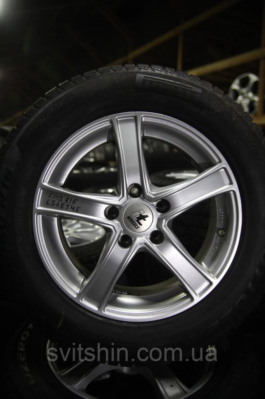 Диски 5/112 R16 6.5J ET45 Mercedes, Audi, Volkswagen, Skoda