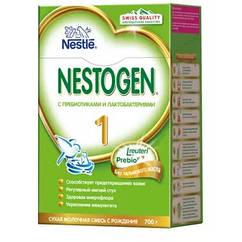 Nestogen® 1 (Нестожен 1)  Сухая молочная смесь для детей с рождения, 700 г