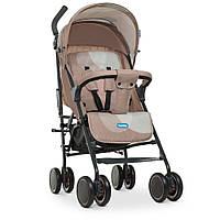 Візок дитячий M 4244 Beige прогулянковий, тростина, кошик, бежевий.