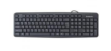 Клавіатура Defender element HB-520 USB black UKR 45529