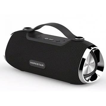 Колонка mini speaker Hopestar H40 bluetooth+power bank+mic black