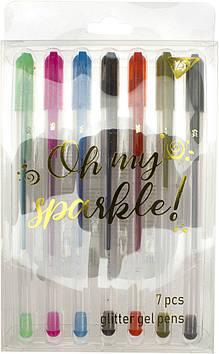 """Набір ручок гел. """"Yes"""" №420367 Oh My Sparkle! 7кольор. глітер(10)(100)"""