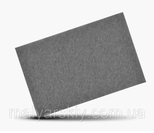 Скотч-брайт шліфувальне волокно 150*230мм  СІРИЙ Р600  SMIRDEX