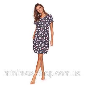 Домашнее платье Doctor Nap TCB 9701 Graphite Польша 2020-21