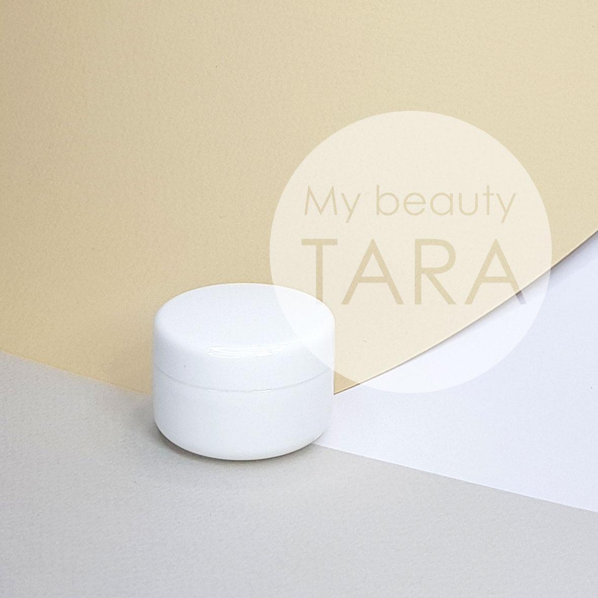 Баночка 20 мл пластикова Лаура, біла
