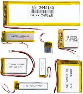 Battery 4.0 x 11 x 19 120 mAh, фото 2