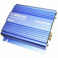 Автомобільний підсилювач звуку X-8000USB 4835