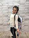 """Куртка весняна """"Софі"""" на дівчинку перламутрово-м'ятного кольору, фото 3"""