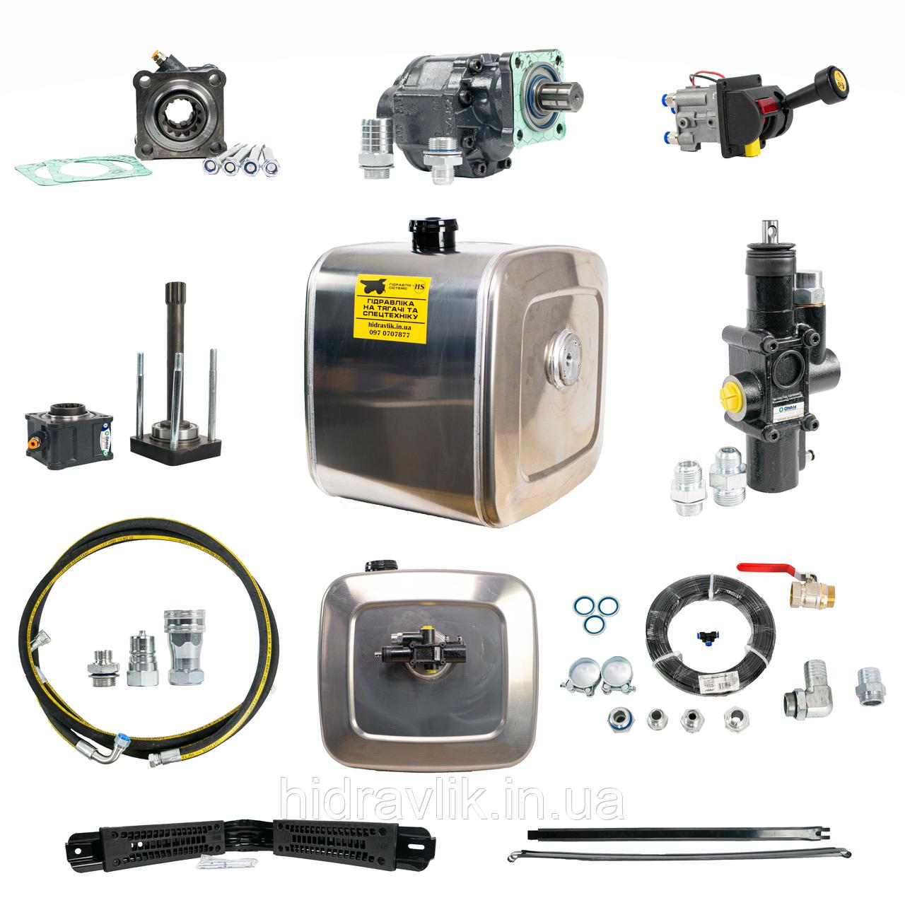 Комплект гідравліки на ZF для автомобілів MAN, DAF, IVECO і RENAULT