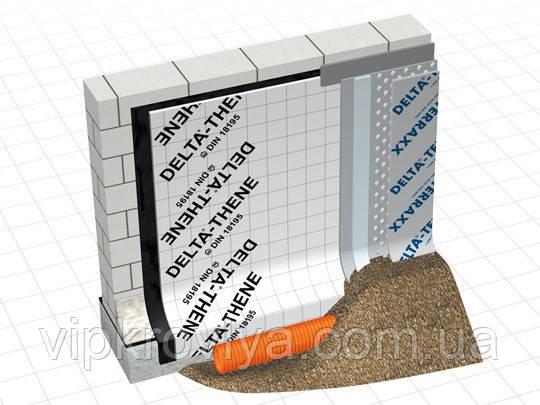 DÖRKEN DELTA дренаж и защита стен фундаментов