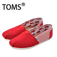 Мокасини TOMS Red Classics Toms University Ash Rope Sole Shoes.