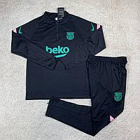 Барселона спортивный костюм 20/21 черный