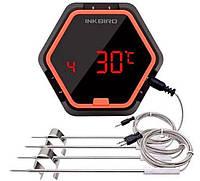 Термометр кулинарный Bluetooth для гриля INKBIRD IBT-6XS, 4 датчика