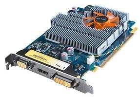 Видеокарта, NVIDIA GeForce GT 220 ZOTAC, 128 бит